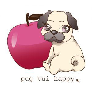 11-pug vui happy
